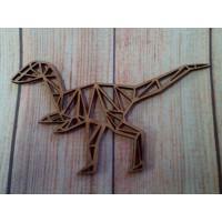 Laser Cut T Rex Dinosaur  150mm